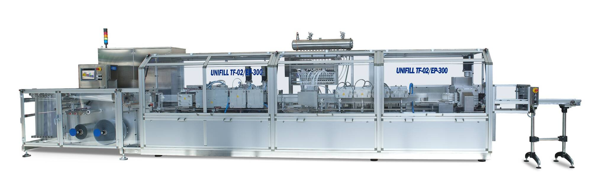 Unifill, TF-01, high speed monodose verticale blistermachine