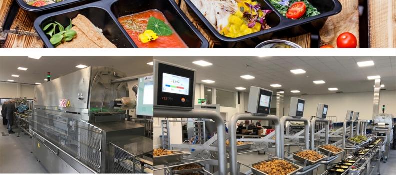 Efficiënt maaltijden verpakken in schaal met traysealers