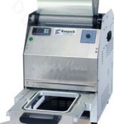 Gebruikte REEPACK schalensluitmachine REESEAL 25