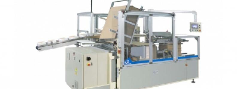 Side loading case packer V 140