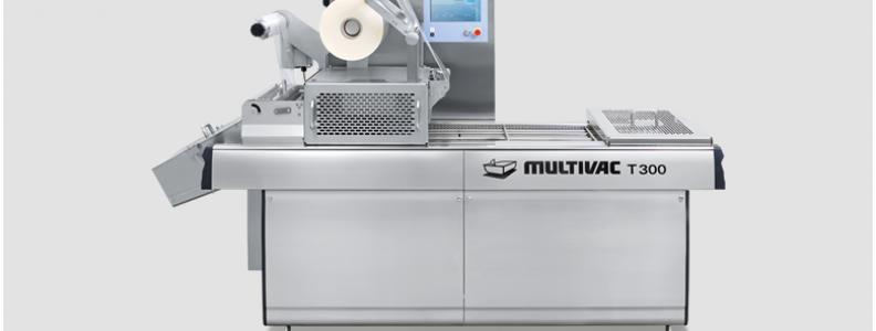 Gebruikte RVS Multivac traysealer T300