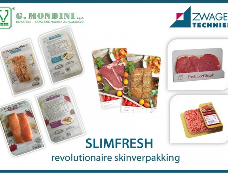 SLIMFRESH Verpakken op Mondini Traysealers
